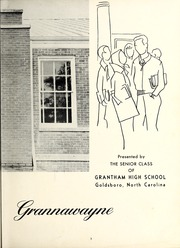 Page 7, 1958 Edition, Grantham High School - Grannawayne Yearbook (Grantham, NC) online yearbook collection