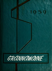 Grantham High School - Grannawayne Yearbook (Grantham, NC) online yearbook collection, 1959 Edition, Page 1