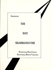 Page 5, 1963 Edition, Grantham High School - Grannawayne Yearbook (Grantham, NC) online yearbook collection