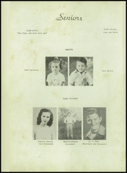 Page 10, 1945 Edition, Elise High School - Elysian Yearbook (Robbins, NC) online yearbook collection