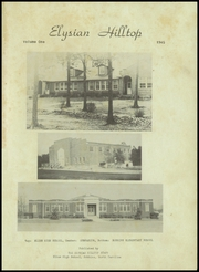 Page 5, 1945 Edition, Elise High School - Elysian Yearbook (Robbins, NC) online yearbook collection