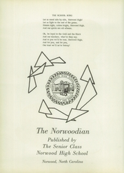 Page 8, 1958 Edition, Norwood High School - Norwoodian Yearbook (Norwood, NC) online yearbook collection