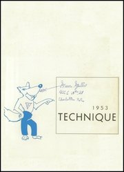 Page 5, 1953 Edition, Charlotte Technical High School - Technique Yearbook (Charlotte, NC) online yearbook collection