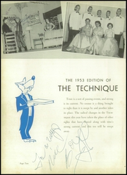 Page 6, 1953 Edition, Charlotte Technical High School - Technique Yearbook (Charlotte, NC) online yearbook collection