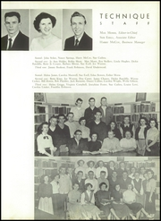 Page 13, 1954 Edition, Charlotte Technical High School - Technique Yearbook (Charlotte, NC) online yearbook collection