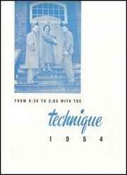 Page 5, 1954 Edition, Charlotte Technical High School - Technique Yearbook (Charlotte, NC) online yearbook collection