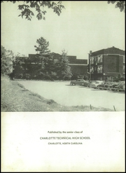 Page 6, 1954 Edition, Charlotte Technical High School - Technique Yearbook (Charlotte, NC) online yearbook collection