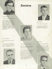 Page 13, 1957 Edition, Liberty High School - Scrapper Yearbook (Liberty, NC) online yearbook collection