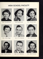 Page 15, 1953 Edition, Cleveland High School - Cle Tracks Yearbook (Clayton, NC) online yearbook collection