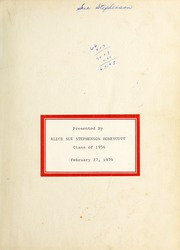 Page 3, 1954 Edition, Cleveland High School - Cle Tracks Yearbook (Clayton, NC) online yearbook collection