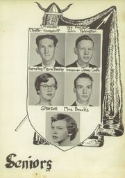 Page 11, 1958 Edition, Cleveland High School - Cle Tracks Yearbook (Clayton, NC) online yearbook collection