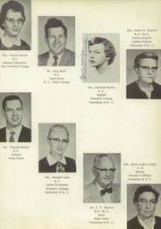 Page 9, 1958 Edition, Cleveland High School - Cle Tracks Yearbook (Clayton, NC) online yearbook collection