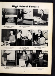 Page 11, 1961 Edition, Cleveland High School - Cle Tracks Yearbook (Clayton, NC) online yearbook collection