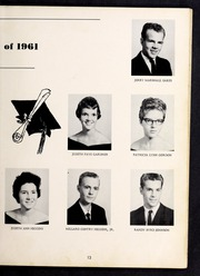 Page 17, 1961 Edition, Cleveland High School - Cle Tracks Yearbook (Clayton, NC) online yearbook collection