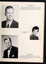 Page 9, 1961 Edition, Cleveland High School - Cle Tracks Yearbook (Clayton, NC) online yearbook collection