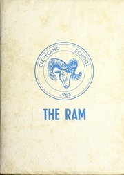 Page 1, 1965 Edition, Cleveland High School - Cle Tracks Yearbook (Clayton, NC) online yearbook collection