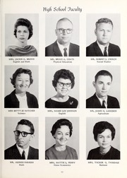 Page 15, 1965 Edition, Cleveland High School - Cle Tracks Yearbook (Clayton, NC) online yearbook collection