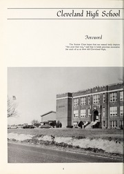 Page 6, 1965 Edition, Cleveland High School - Cle Tracks Yearbook (Clayton, NC) online yearbook collection