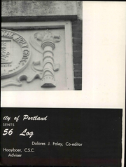 Page 9, 1956 Edition, University of Portland - Log Yearbook (Portland, OR) online yearbook collection