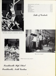 Page 7, 1963 Edition, Franklinville High School - Cardinal Yearbook (Franklinville, NC) online yearbook collection