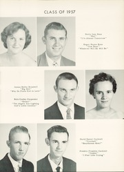 Page 17, 1957 Edition, Coopers High School - Cohisan Yearbook (Nashville, NC) online yearbook collection