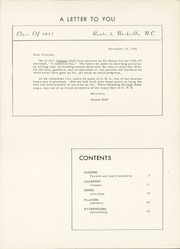 Page 7, 1957 Edition, Coopers High School - Cohisan Yearbook (Nashville, NC) online yearbook collection