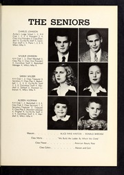 Page 11, 1948 Edition, Corinth Holders High School - Corinthian Yearbook (Zebulon, NC) online yearbook collection