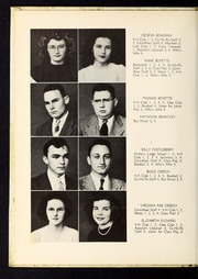 Page 12, 1948 Edition, Corinth Holders High School - Corinthian Yearbook (Zebulon, NC) online yearbook collection