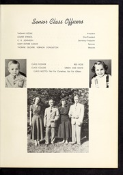 Page 11, 1950 Edition, Corinth Holders High School - Corinthian Yearbook (Zebulon, NC) online yearbook collection