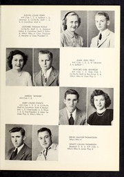 Page 15, 1950 Edition, Corinth Holders High School - Corinthian Yearbook (Zebulon, NC) online yearbook collection