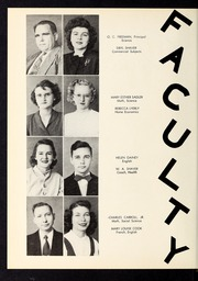 Page 8, 1950 Edition, Corinth Holders High School - Corinthian Yearbook (Zebulon, NC) online yearbook collection