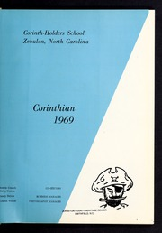 Page 5, 1969 Edition, Corinth Holders High School - Corinthian Yearbook (Zebulon, NC) online yearbook collection