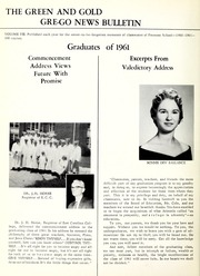 Page 8, 1961 Edition, Fremont High School - Grego Yearbook (Fremont, NC) online yearbook collection