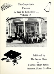 Page 5, 1963 Edition, Fremont High School - Grego Yearbook (Fremont, NC) online yearbook collection