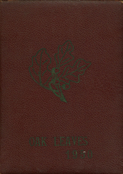 1950 Edition, Red Oak High School - Oak Leaves Yearbook (Red Oak, NC)