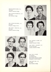 Page 10, 1960 Edition, Lee Woodard High School - Panthers Paw Yearbook (Black Creek, NC) online yearbook collection