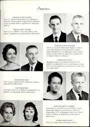 Page 15, 1963 Edition, Lee Woodard High School - Panthers Paw Yearbook (Black Creek, NC) online yearbook collection