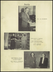 Page 10, 1953 Edition, Lowell High School - Lion Yearbook (Lowell, NC) online yearbook collection
