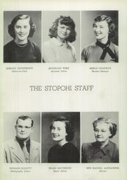 Page 10, 1951 Edition, Stony Point High School - Stopohi Yearbook (Stony Point, NC) online yearbook collection