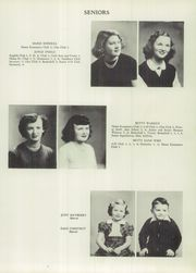 Page 17, 1951 Edition, Stony Point High School - Stopohi Yearbook (Stony Point, NC) online yearbook collection