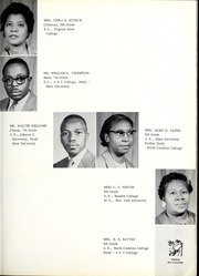Page 15, 1960 Edition, Central High School - Panther Yearbook (Goldsboro, NC) online yearbook collection