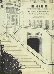 Page 5, 1959 Edition, Rich Square High School - Rowanian Yearbook (Rich Square, NC) online yearbook collection
