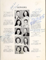 Page 13, 1948 Edition, Berryhill High School - Link and Chain Yearbook (Charlotte, NC) online yearbook collection