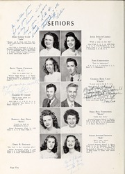 Page 14, 1948 Edition, Berryhill High School - Link and Chain Yearbook (Charlotte, NC) online yearbook collection