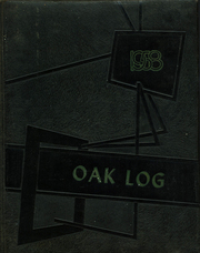 Page 1, 1958 Edition, Oak Hill High School - Log Yearbook (Lenoir, NC) online yearbook collection