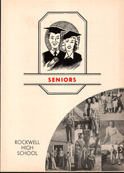 Page 13, 1945 Edition, Rockwell High School - Rocket Yearbook (Rockwell, NC) online yearbook collection