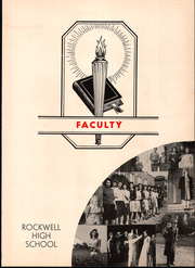 Page 9, 1945 Edition, Rockwell High School - Rocket Yearbook (Rockwell, NC) online yearbook collection