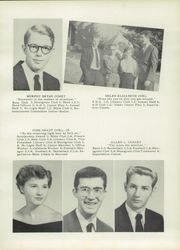 Page 13, 1956 Edition, Rockwell High School - Rocket Yearbook (Rockwell, NC) online yearbook collection