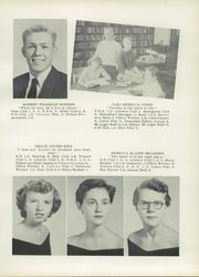 Page 17, 1956 Edition, Rockwell High School - Rocket Yearbook (Rockwell, NC) online yearbook collection