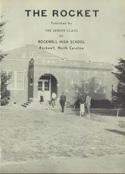 Page 5, 1956 Edition, Rockwell High School - Rocket Yearbook (Rockwell, NC) online yearbook collection